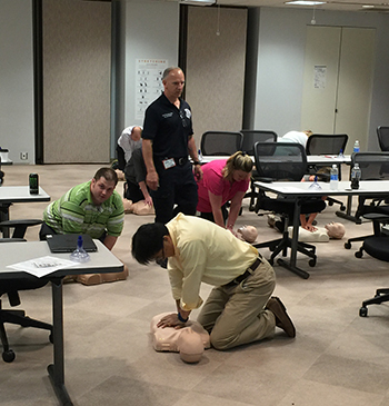 CPR Class Photo
