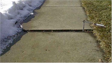 Sidewalk Removal Program - Criteria Example 01