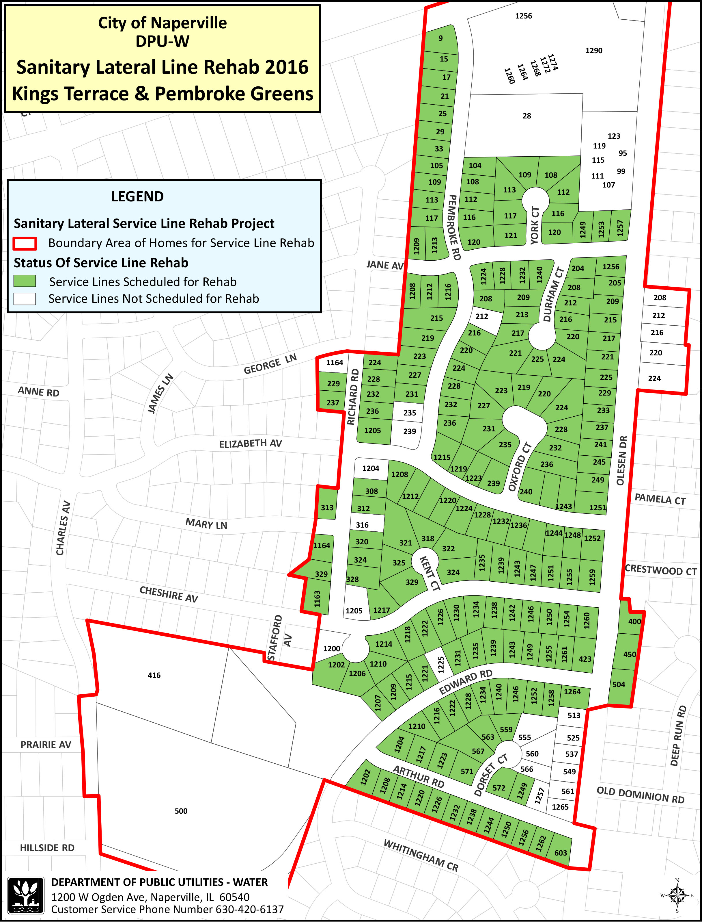 Residential Sanitary Sewer Lining Program | The City of Naperville