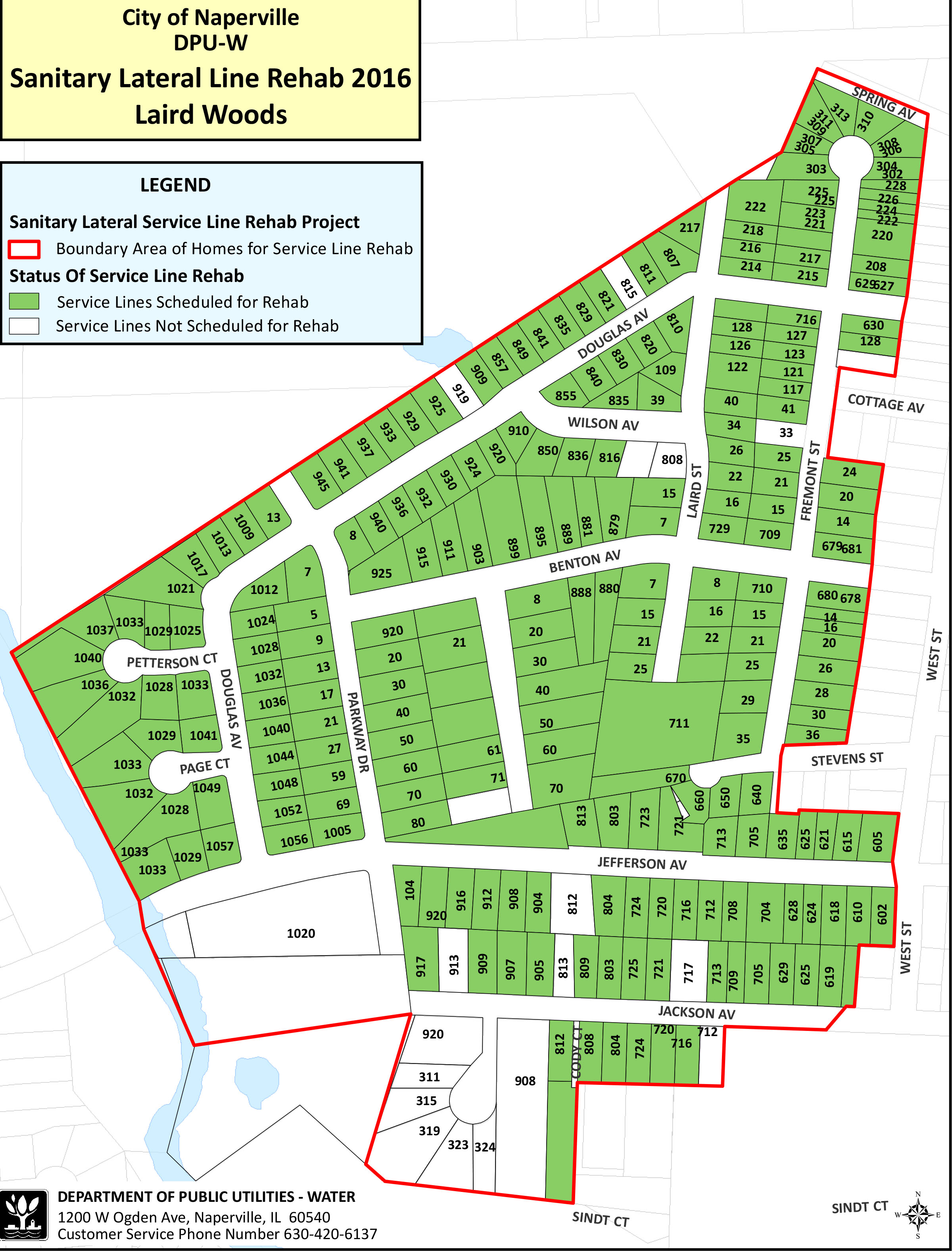 Residential sanitary sewer lining program the city of for Residential sewer systems