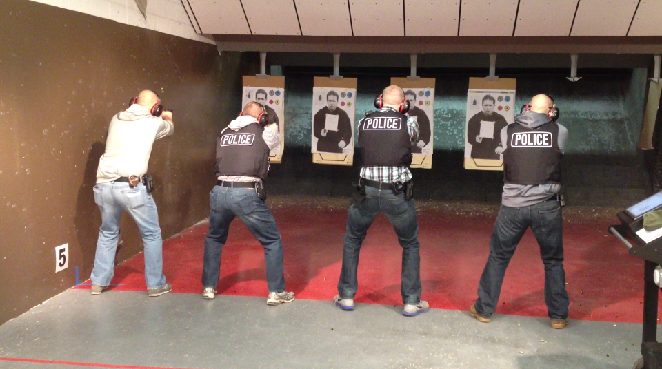 NPD's 98,600-square-foot facility has a gun range, defensive tactics training room and fitness center on site.