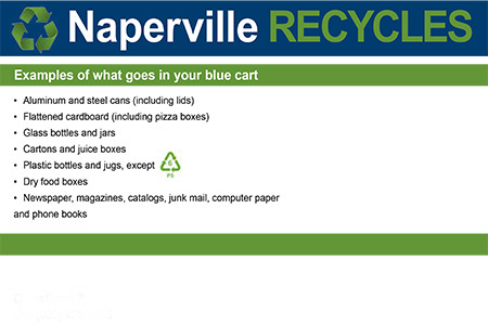#NapervilleRecycles
