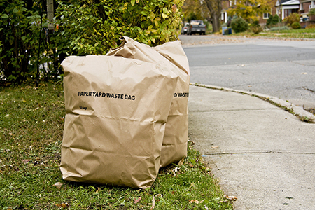 Tired of bagging your yard waste?