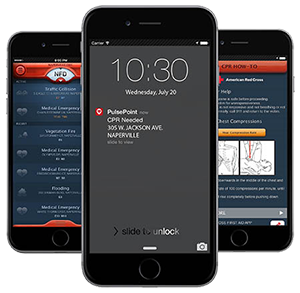 PulsePoint Respond on Smartphones