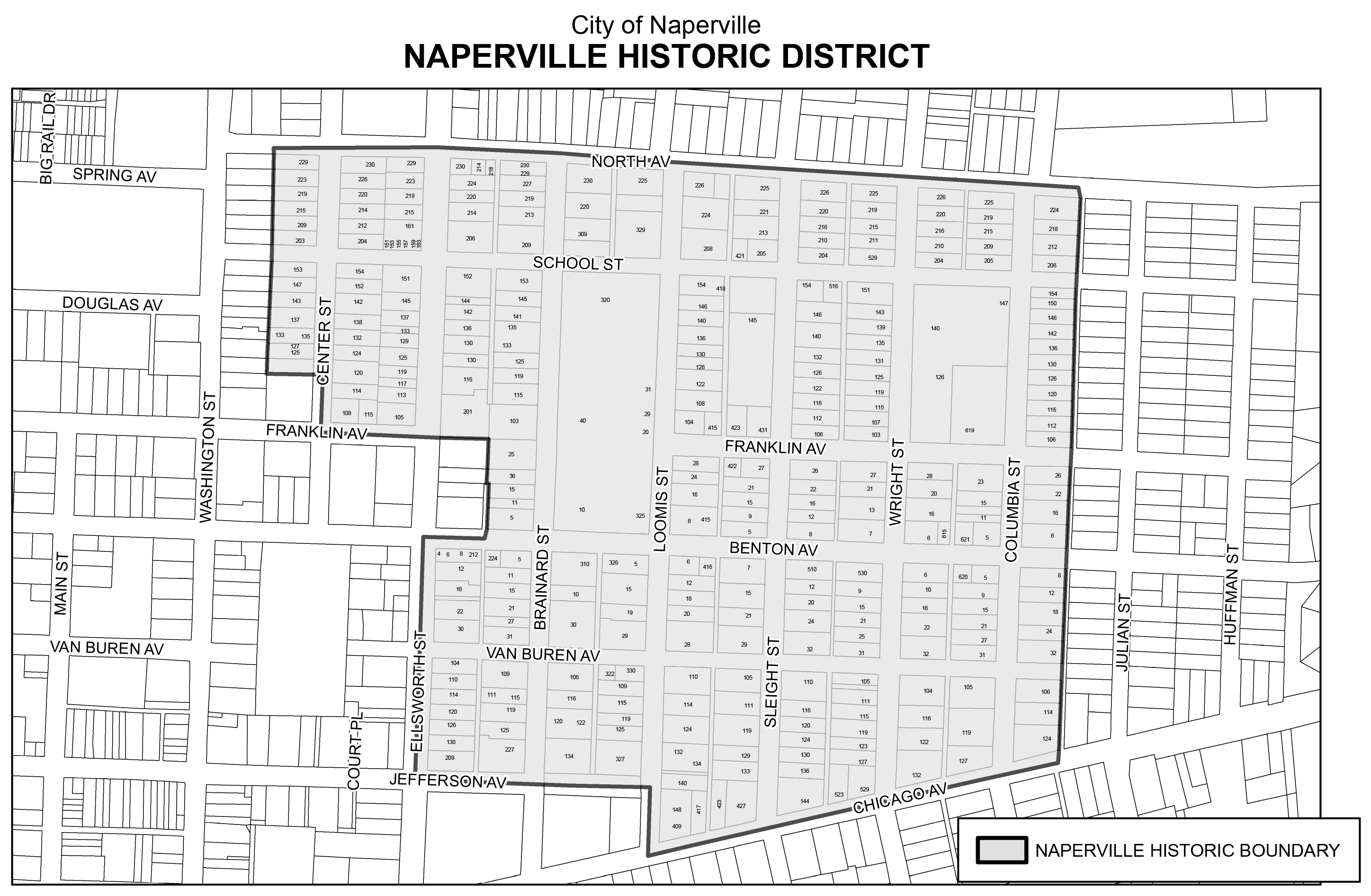 Historic District The City of Naperville