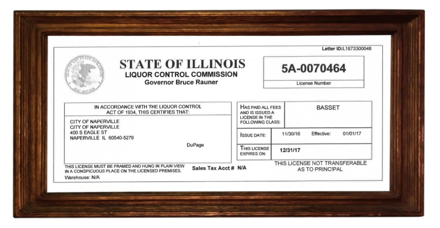 Training Licenses and permits