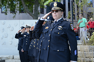 Naperville Police Department is comprised of 168 sworn officers and 103 civilian employees.
